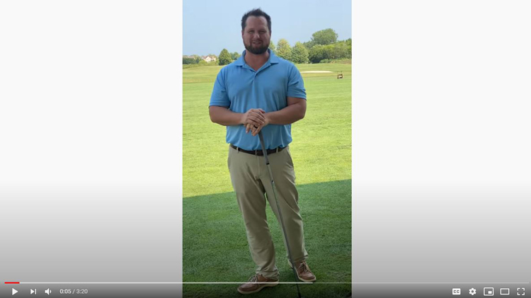 Golf Exercises Demonstrated by Vernon Hills IL Chiropractor